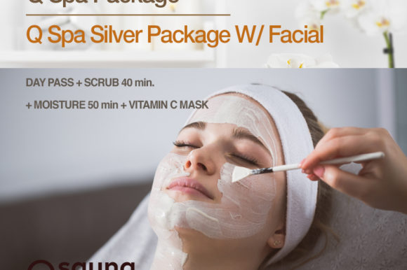 Q Spa Package – Q Spa Silver Package W/ Facial