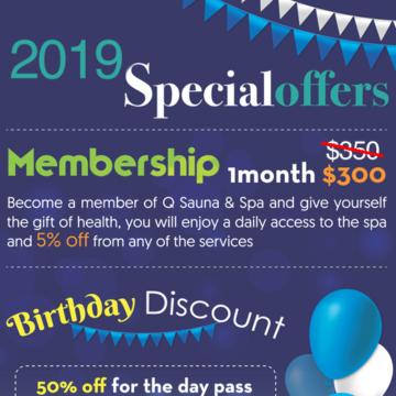 Enjoy Our Specials At Q Sauna & Spa Lynnwood