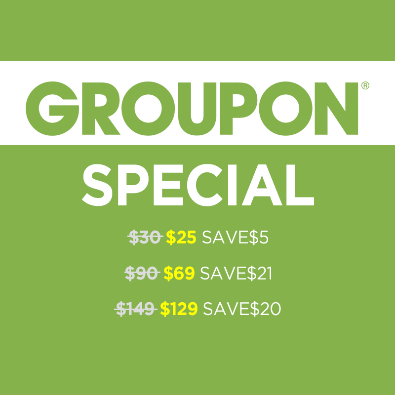 Groupon Special (Up to 23% Off)