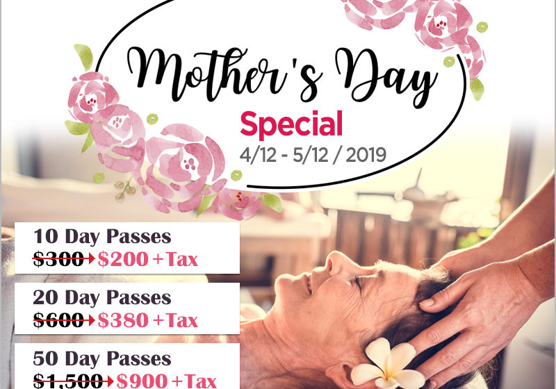 Mother's Day Spa Special